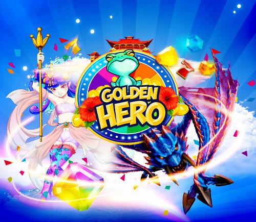 Golden Hero arrives!