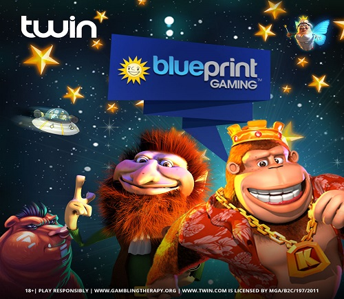Blueprint Gaming partners with Twin!